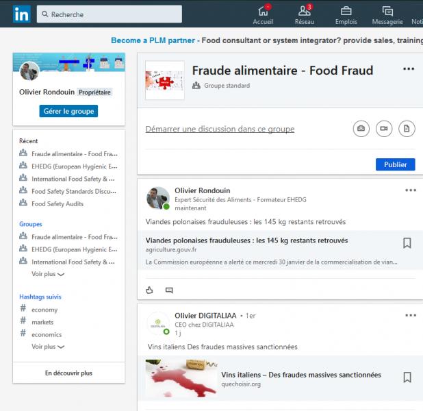 Linkedin fraudes