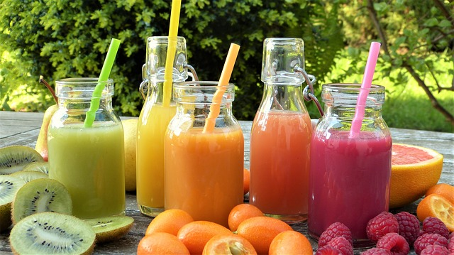 Smoothies image by silviarita from pixabay